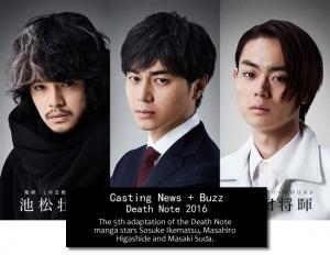 Live action Coverage: Timeline + Buzz for Death Note! Kenichi Matsuyama & Tatsuya Fujiwara returns!