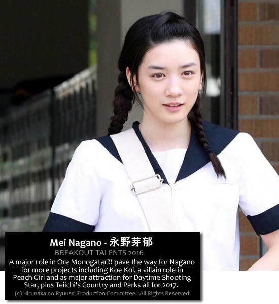 Mei Nagano - Breakout star 2016