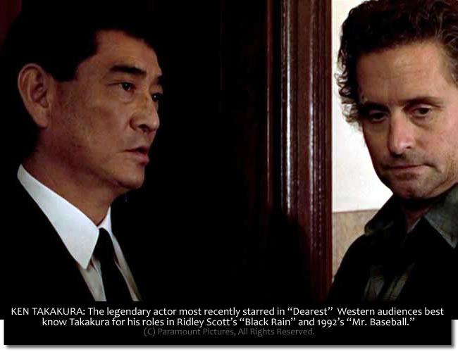 Ken Takakura - With Michael Douglas in 'Black Rain'