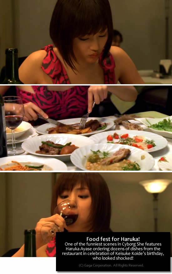 Cyborg She - food/restaurant scene