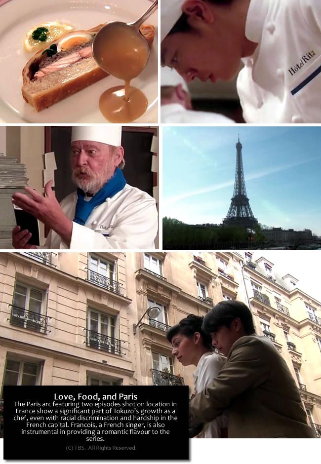 The Emperor's Cook - scene highlights Paris arc
